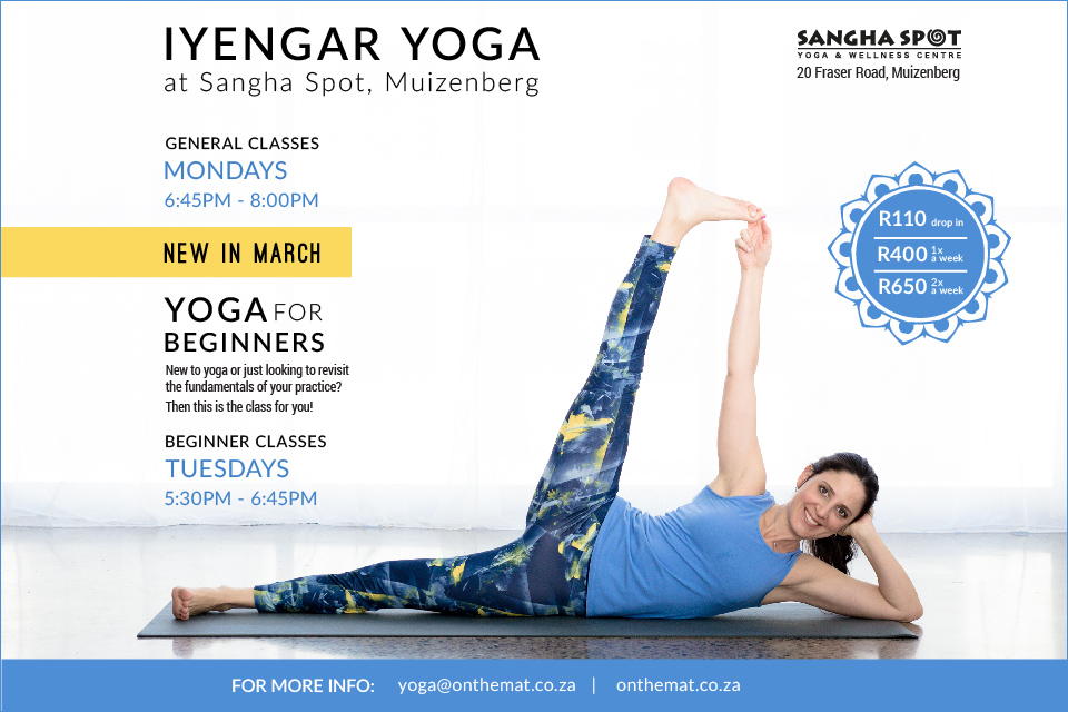 NEW IN MARCH – Yoga for beginners