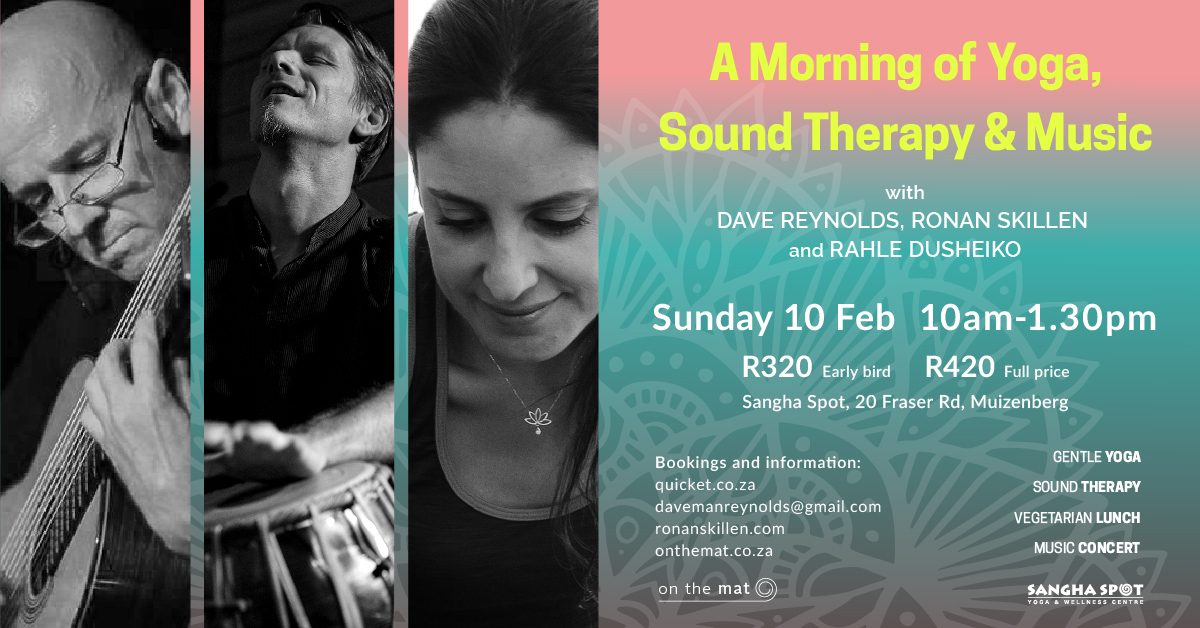 A Morning of Yoga, Sound Therapy & Music