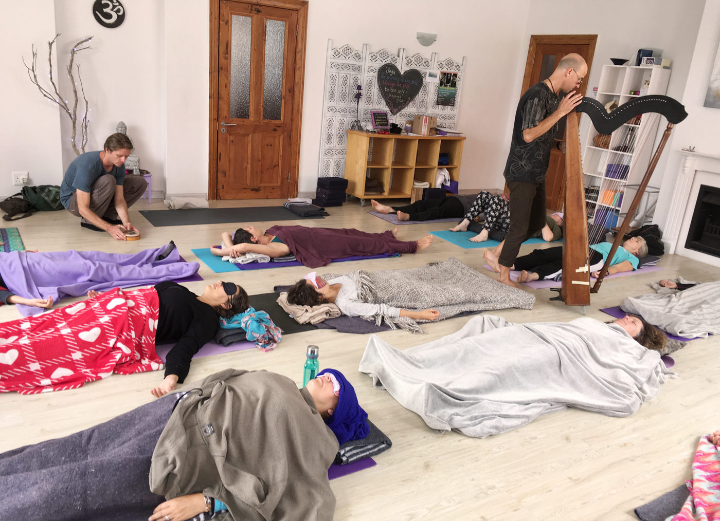Some photos from the Yoga and Sound Day – 10 Feb 2019